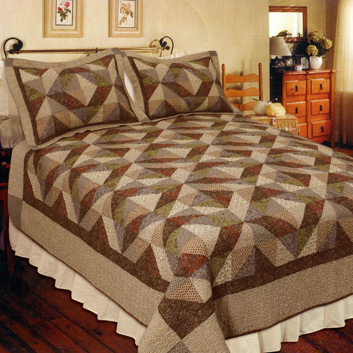 Country Cottage Quilt Set - Elegant Decor - BlackMountainQuilts ... : country cottage quilts - Adamdwight.com