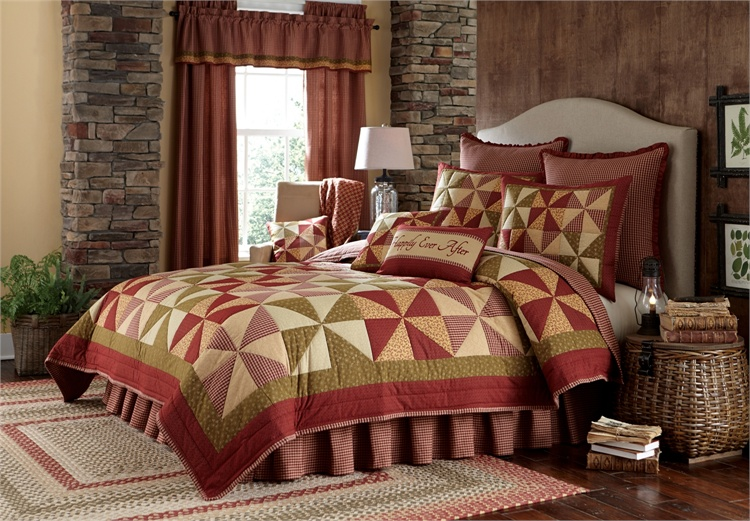 Mill Village Quilt - BlackMountainQuilts.net - Quilted ...