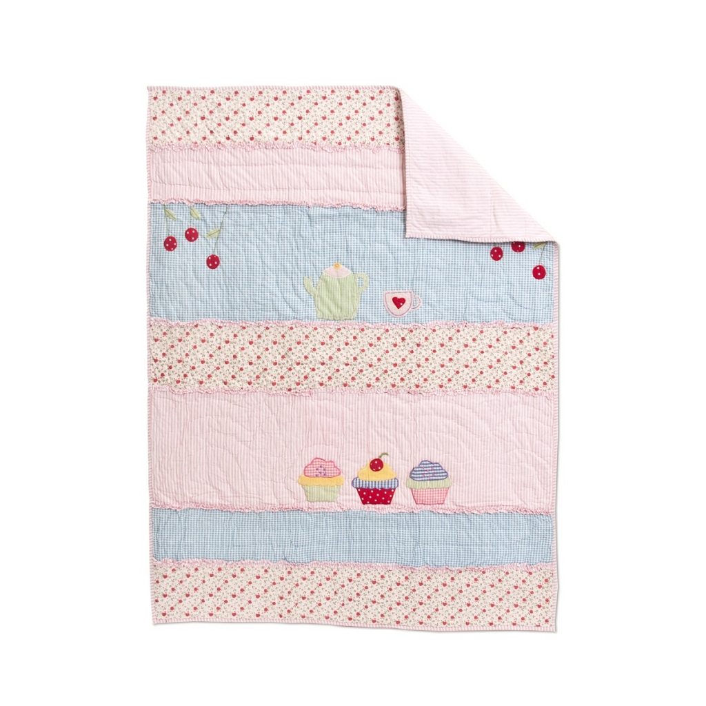 Cupcake Baby Quilt by Amity Home - BlackMountainQuilts.net ... : cupcake quilt - Adamdwight.com