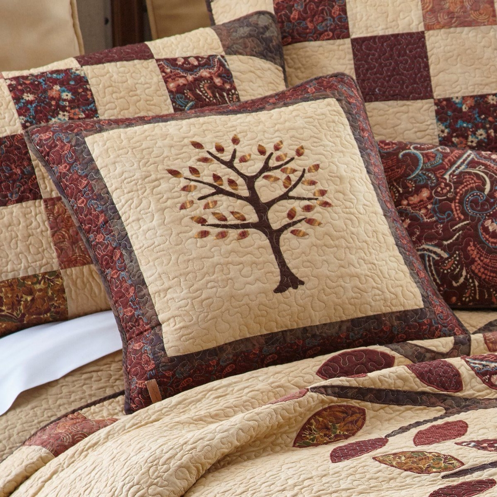 Autumn Tree Of Life Quilt Donna Sharp