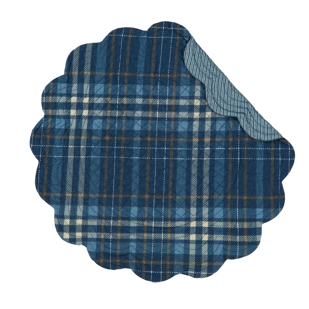 Anthony Navy Placemats And Napkins C F
