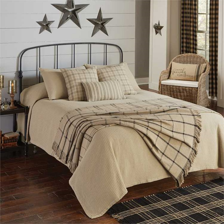 Farmington Oatmeal Coverlet Park Designs