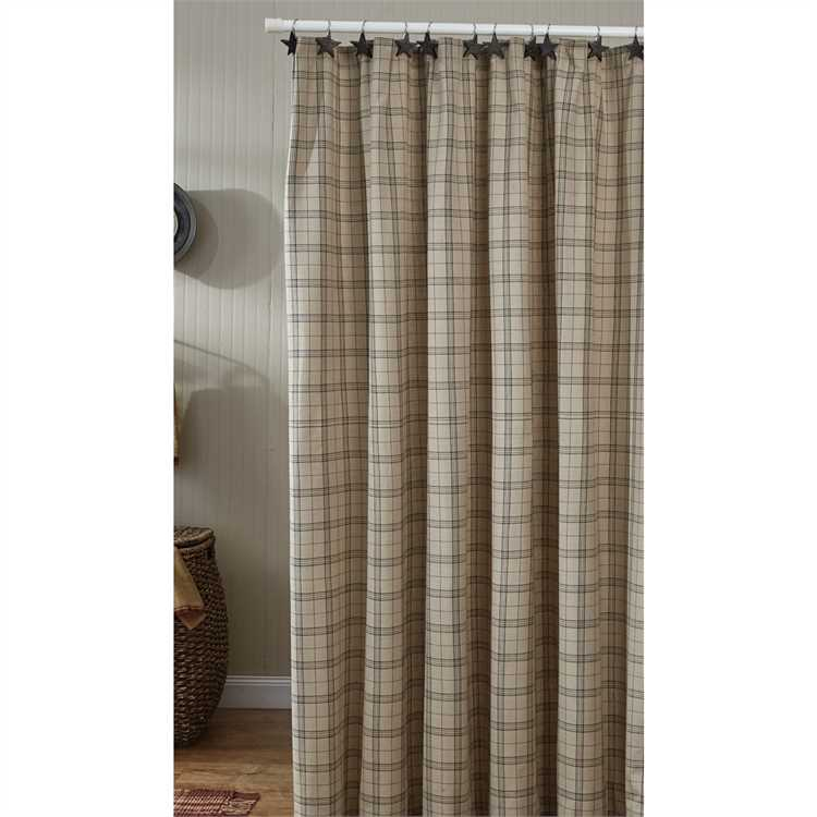 Zoom OverviewReviewsTell A Friend FIELDSTONE PLAID SHOWER CURTAIN