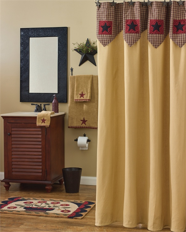 My Country Home Shower Curtain - Park Designs - BlackMountainQuilts ...