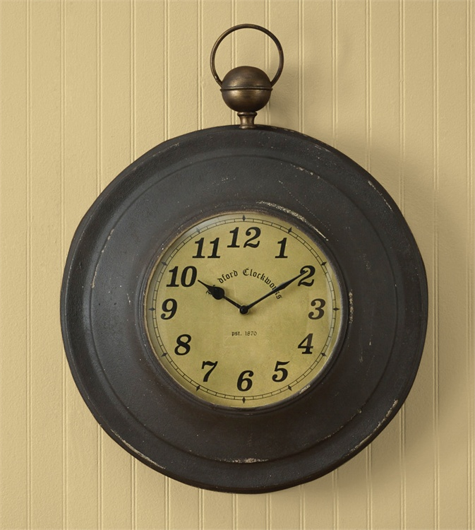 Zoom Overviewreviewstell A Friend Pocket Watch Wall Clock This Large