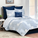 Asher Stripe Quilt Set