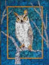 Great Horned Owl Wall Hanging