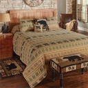 Bear Tracks Coverlet