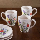 Garden Flowers Dinnerware