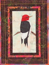 Red Headed Woodpecker Wall Hanging