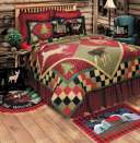 Lodge Quilt from C & F